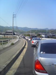 うどん渋滞